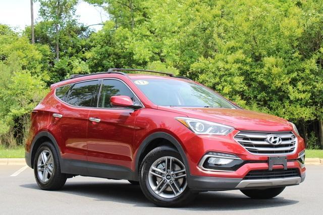 used 2017 Hyundai Santa Fe Sport car, priced at $16,535