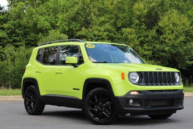 used 2018 Jeep Renegade car, priced at $17,364