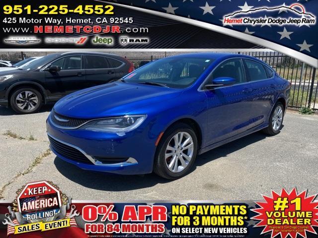 used 2016 Chrysler 200 car, priced at $12,802