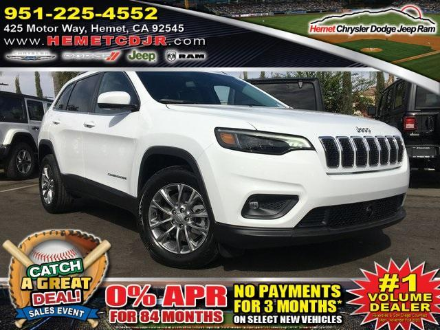 new 2021 Jeep Cherokee car, priced at $23,149