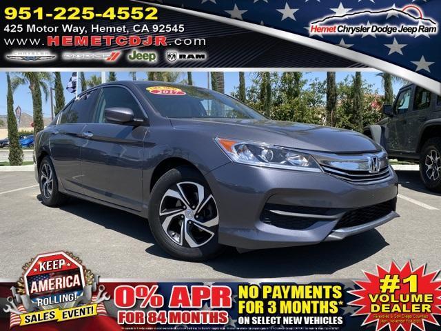 used 2017 Honda Accord car, priced at $15,474