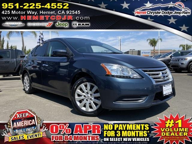 used 2015 Nissan Sentra car, priced at $9,442