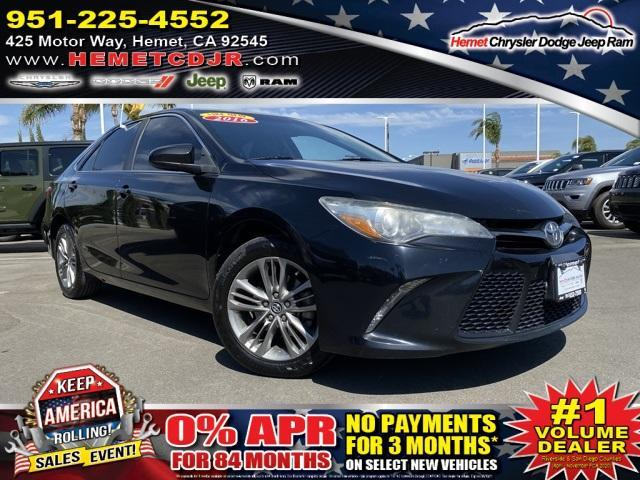 used 2016 Toyota Camry car, priced at $16,052
