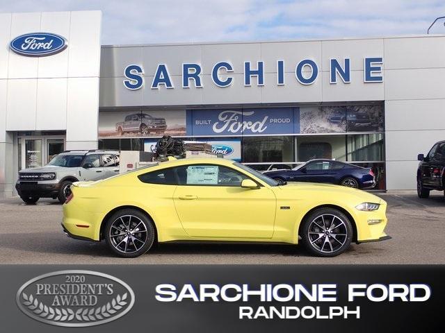 new 2021 Ford Mustang car, priced at $34,445