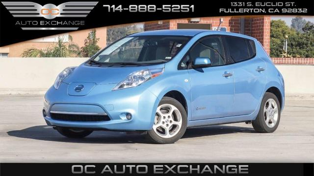 used 2011 Nissan Leaf car, priced at $4,999