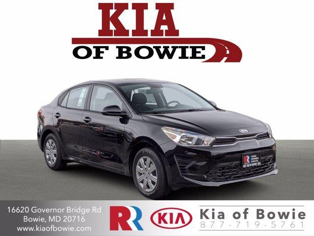 new 2021 Kia Rio car, priced at $18,095