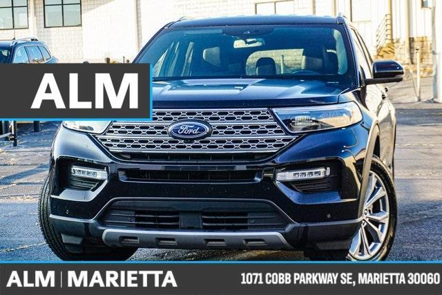 used 2020 Ford Explorer car, priced at $38,977