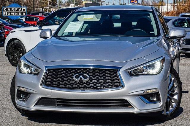 used 2020 INFINITI Q50 car, priced at $29,477