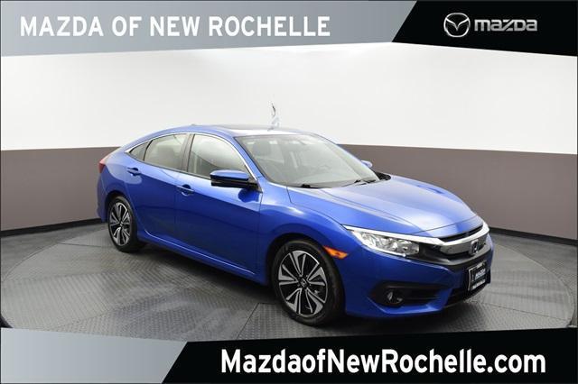 used 2018 Honda Civic car, priced at $18,890