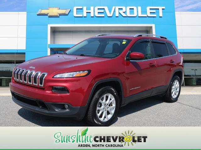 used 2017 Jeep Cherokee car, priced at $17,883