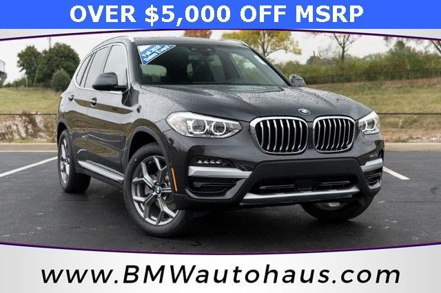 used 2021 BMW X3 car, priced at $48,325