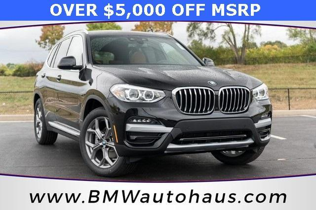 used 2021 BMW X3 car, priced at $48,865