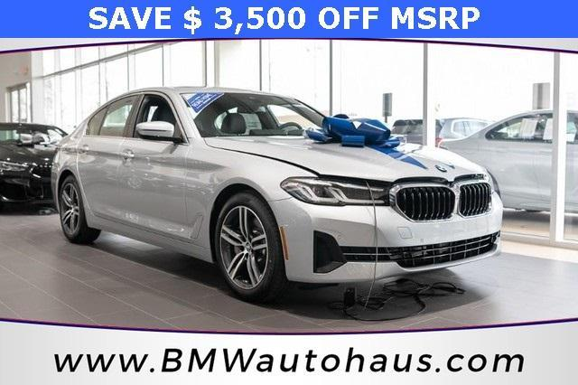 used 2021 BMW 530 car, priced at $56,230
