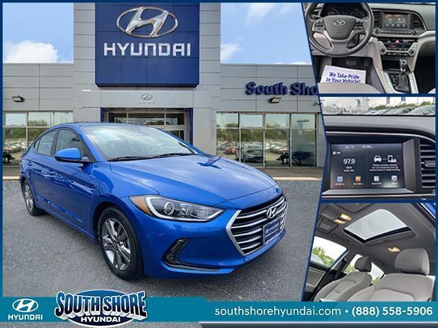used 2018 Hyundai Elantra car, priced at $13,998