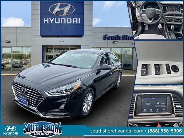 used 2018 Hyundai Sonata car, priced at $14,298