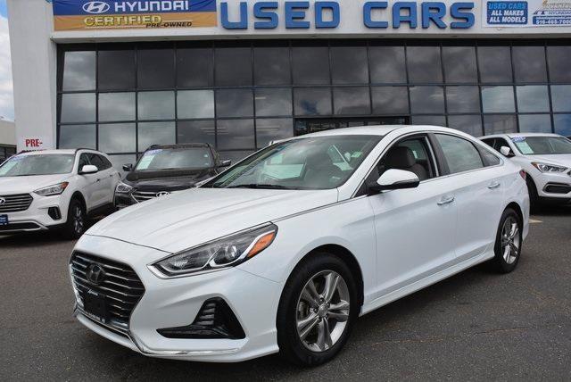used 2018 Hyundai Sonata car, priced at $15,298
