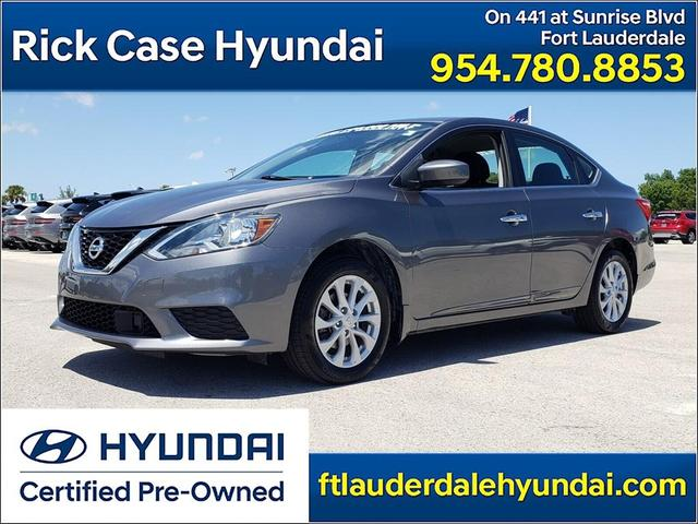 used 2018 Nissan Sentra car, priced at $16,595