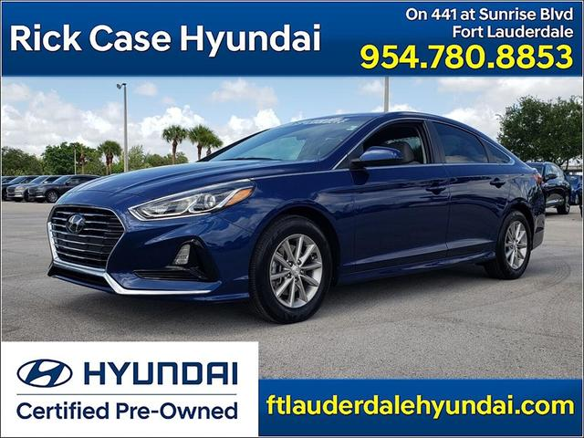 used 2018 Hyundai Sonata car, priced at $17,844