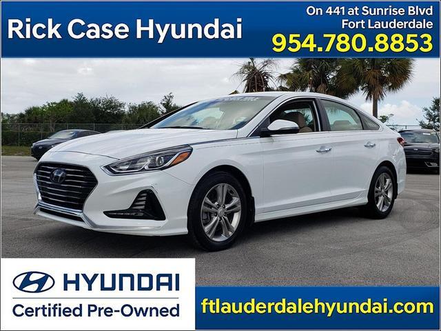 used 2018 Hyundai Sonata car, priced at $18,863