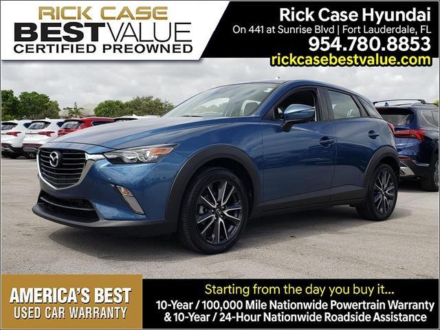 used 2018 Mazda CX-3 car, priced at $19,206