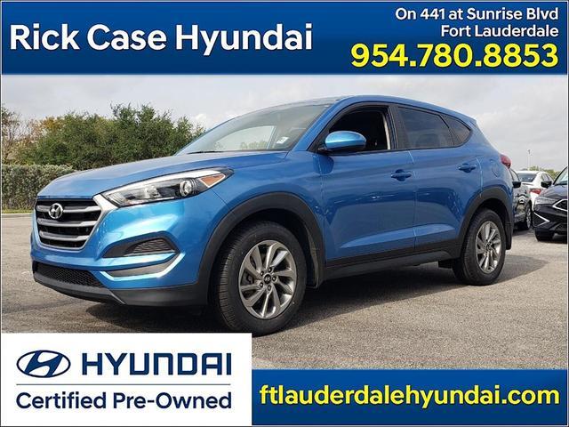 used 2018 Hyundai Tucson car, priced at $18,852