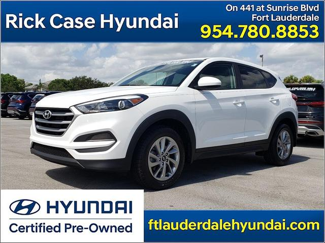 used 2018 Hyundai Tucson car, priced at $18,356