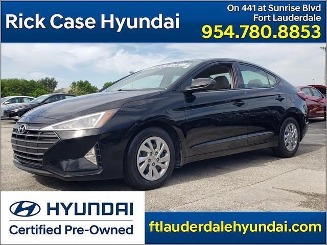 used 2020 Hyundai Elantra car, priced at $18,938