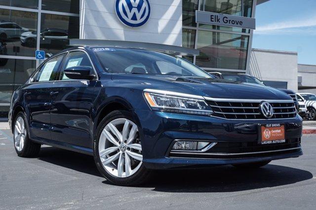 used 2018 Volkswagen Passat car, priced at $22,999