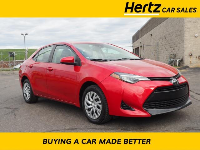 used 2018 Toyota Corolla car, priced at $13,500