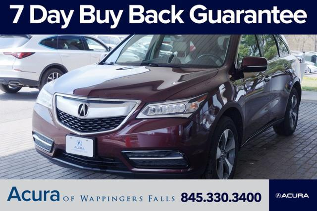 used 2016 Acura MDX car, priced at $24,770