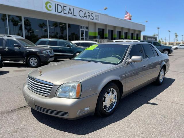 used 2003 Cadillac DeVille car, priced at $5,291
