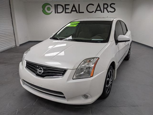 used 2012 Nissan Sentra car, priced at $6,491