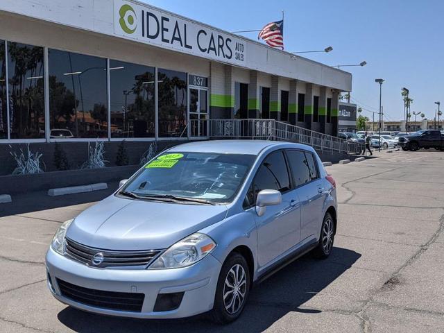 used 2012 Nissan Versa car, priced at $6,491