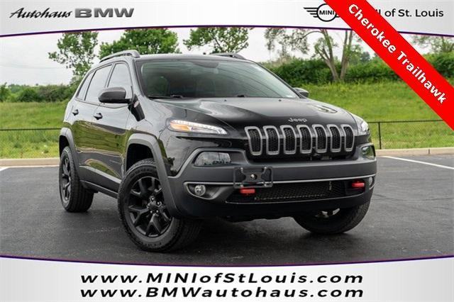 used 2018 Jeep Cherokee car, priced at $26,800