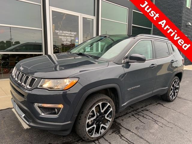 used 2017 Jeep Compass car, priced at $24,800