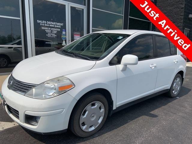 used 2007 Nissan Versa car, priced at $6,600