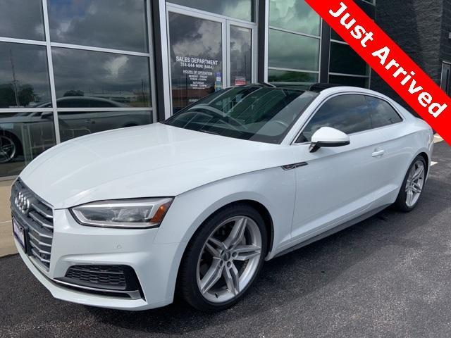 used 2018 Audi A5 car, priced at $34,900
