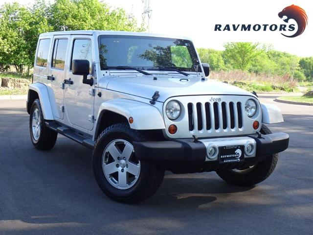 used 2012 Jeep Wrangler Unlimited car, priced at $25,988
