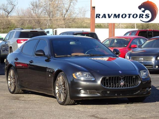 used 2010 Maserati Quattroporte car, priced at $21,687