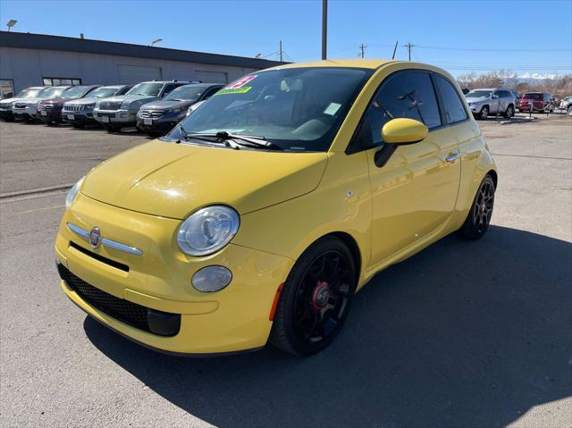 used 2013 FIAT 500 car, priced at $6,995