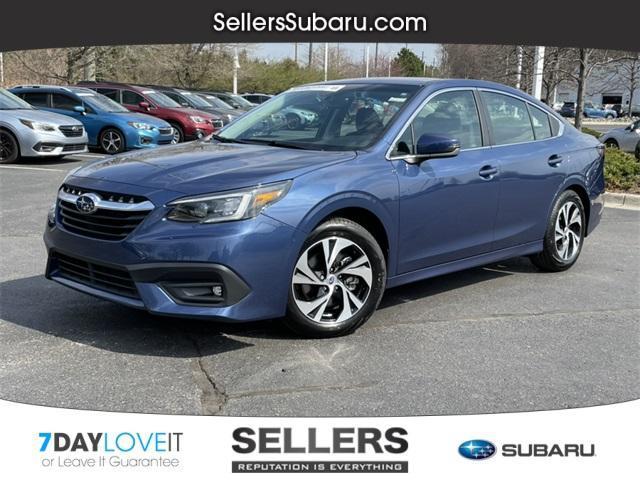 used 2021 Subaru Legacy car, priced at $26,884