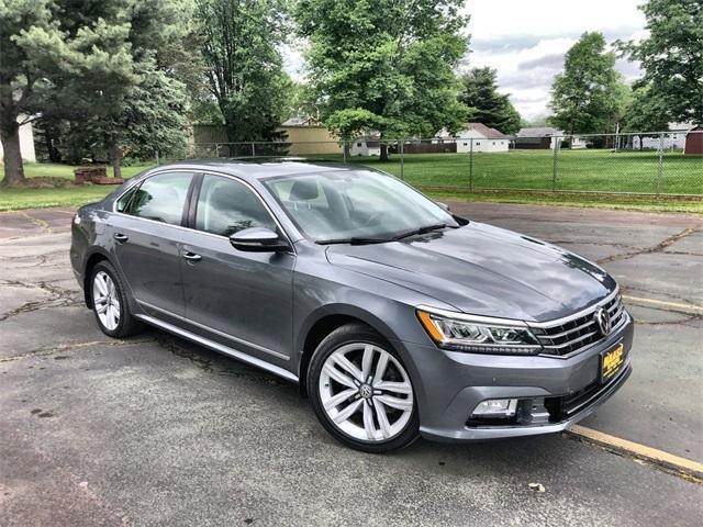 used 2017 Volkswagen Passat car, priced at $19,900