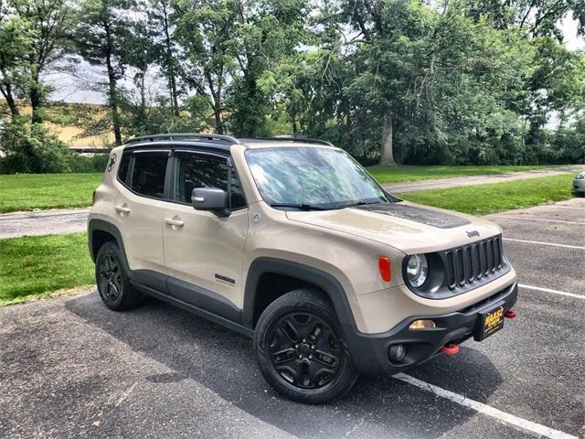 used 2017 Jeep Renegade car, priced at $19,900