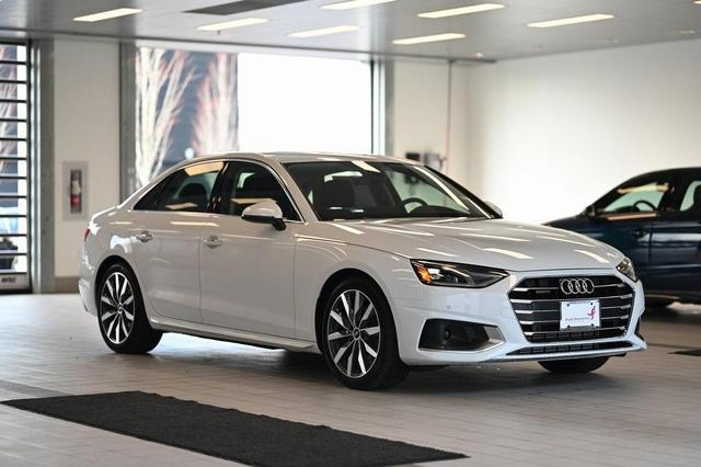 new 2021 Audi A4 car, priced at $44,055