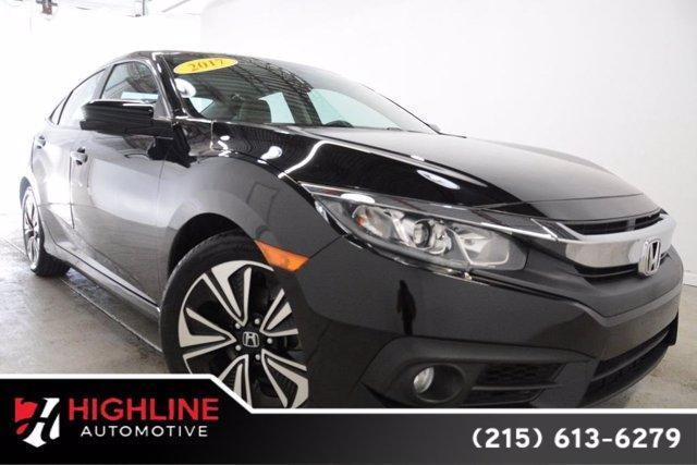 used 2017 Honda Civic car, priced at $22,005