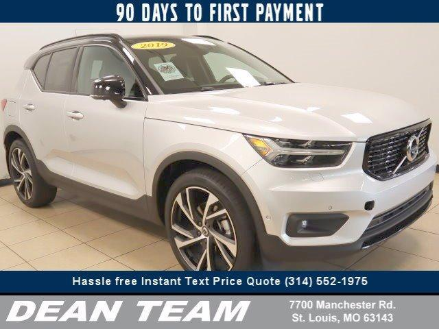used 2019 Volvo XC40 car, priced at $39,495