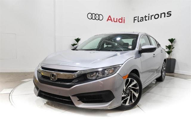 used 2016 Honda Civic car, priced at $16,682
