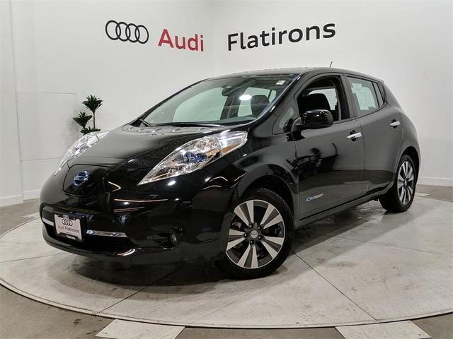 used 2015 Nissan Leaf car, priced at $13,776