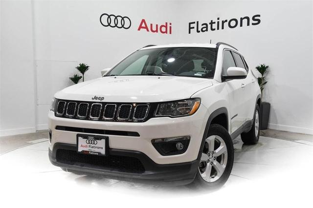 used 2017 Jeep Compass car, priced at $22,016