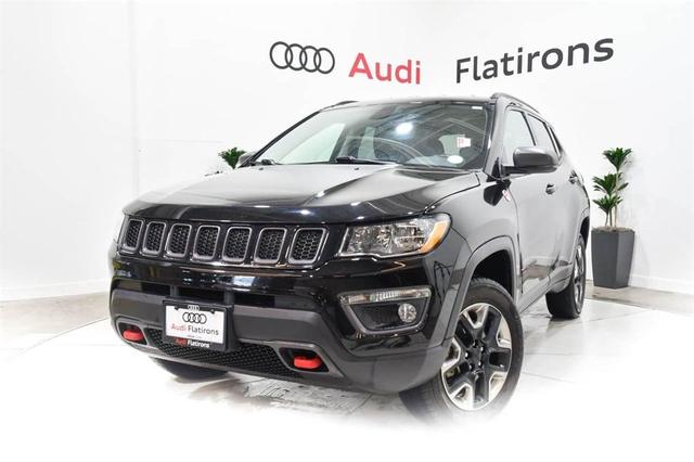 used 2018 Jeep Compass car, priced at $23,895